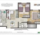 2 dormitórios - 2ª opção