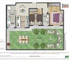 2 dormitórios com área privativa - 6ª opção