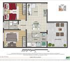 2 Dormitório - 1ª opção