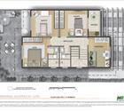 Casa 3 dorms com suíte e escritório - 2° pavimento