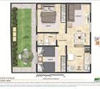 2 dormitórios com área privativa - 3ª opção
