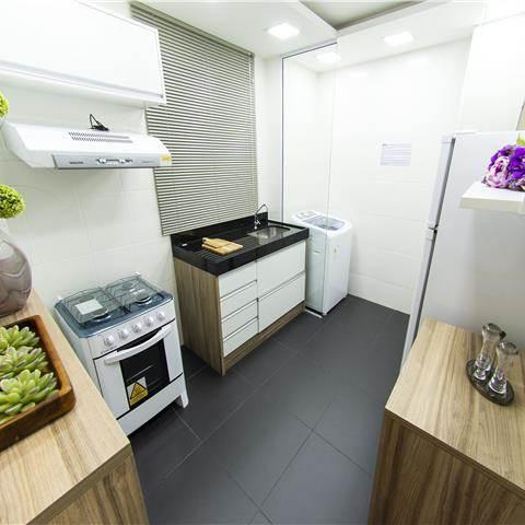 Apartamento decorado - Cozinha