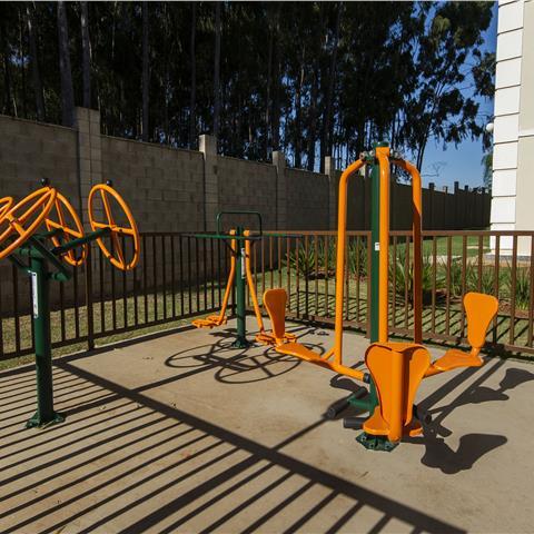 Espaço Fitness - imagem do condomínio