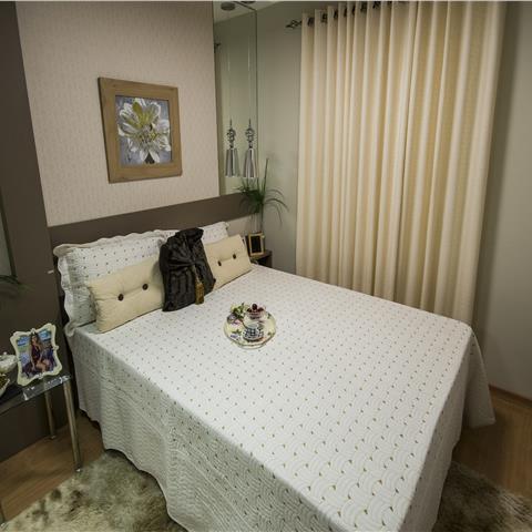 Apartamento decorado - Quarto Casal