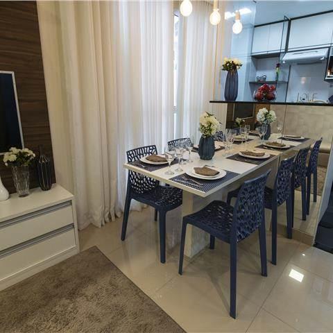 Apartamento decorado - Sala de Jantar