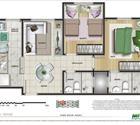 2 dormitórios - 4ª opção