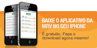 Aplicativo MRV no iPhone
