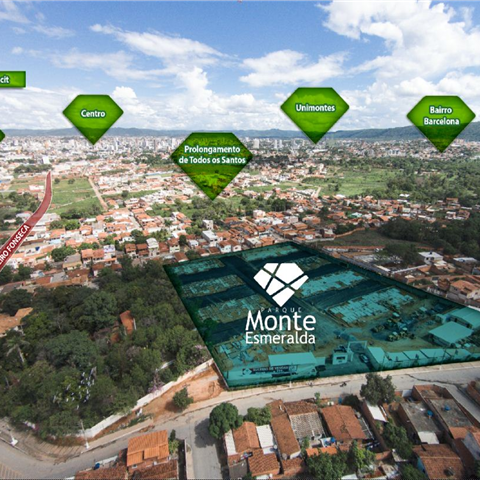Parque Monte Esmeralda, condomínio de Apartamentos, MRV em Montes Claros/MG