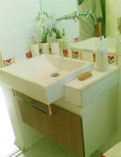 lavabos decorados veis planejados -> Banheiro Planejado Mrv