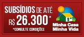 MCMV - 1,5 - até R$ 26.300 mil