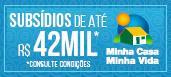 MCMV - 1,5 - até R$ 42 mil
